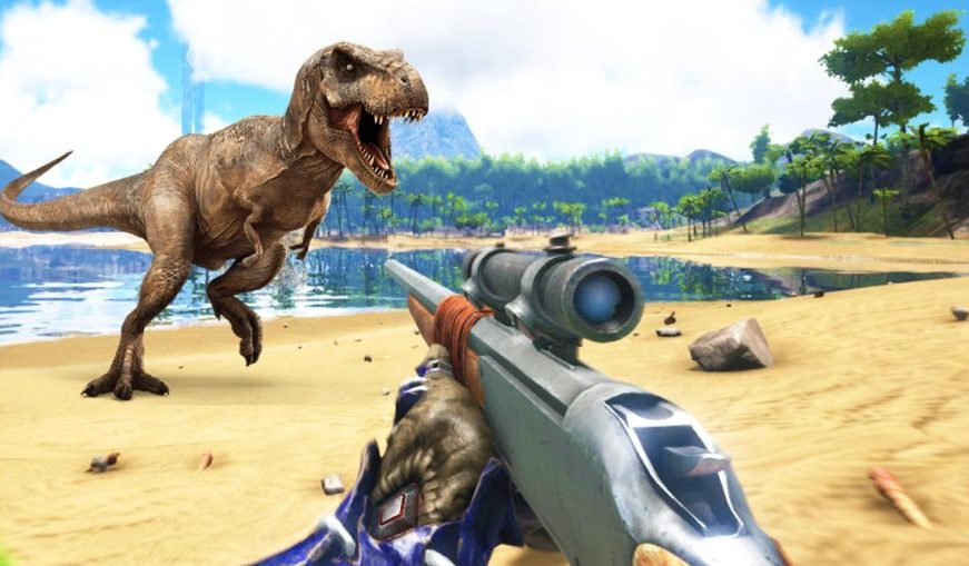 Ark: Survival Evolved for MacBook gameplay