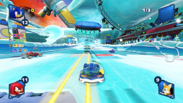 Team Sonic Racing MacBook Version gameplay