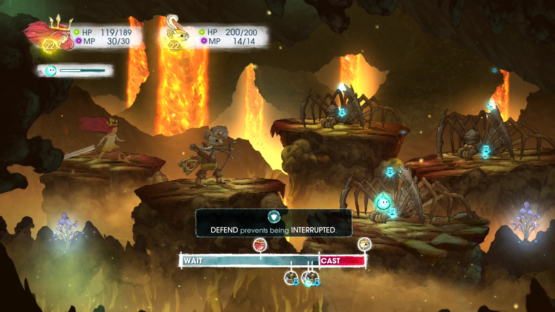 Child of Light MacBook OS X Version gameplay