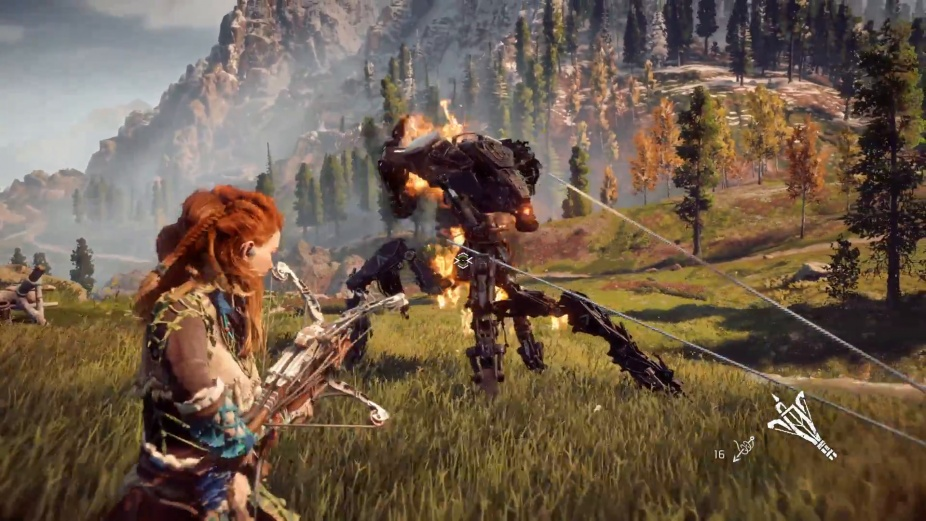 Horizon Zero Dawn for MacBook gameplay