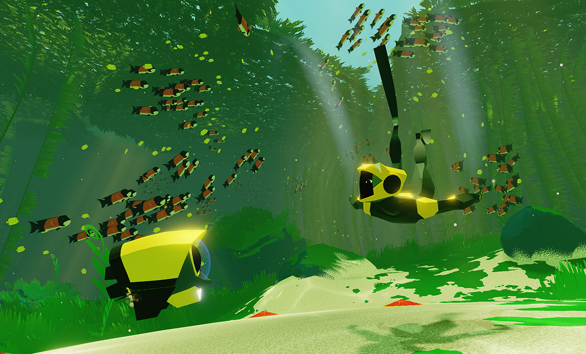 Abzu MacBook Version gameplay