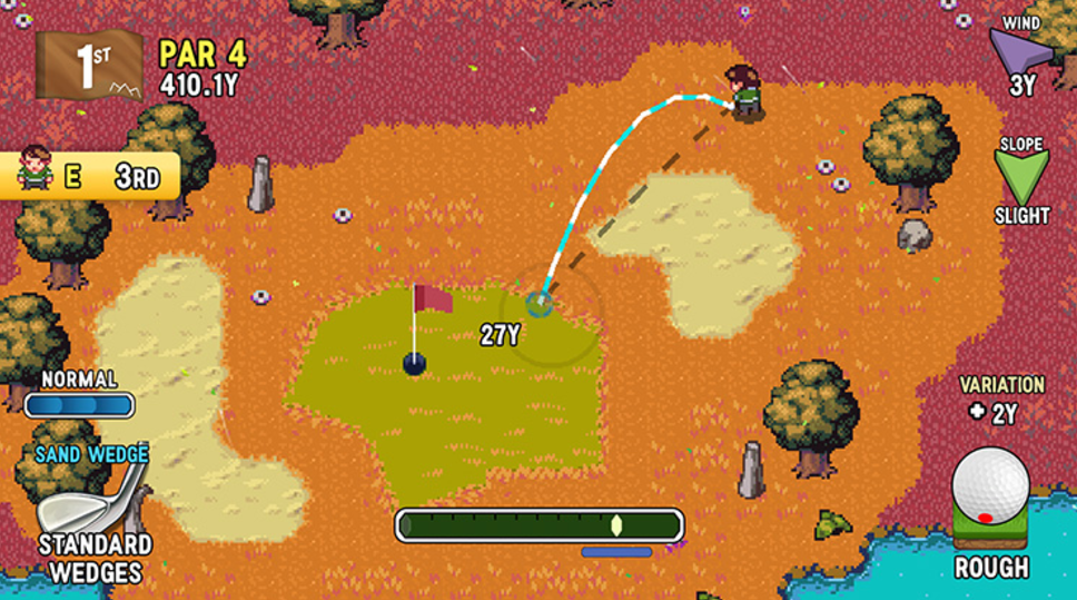 Golf Story for MacBook gameplay