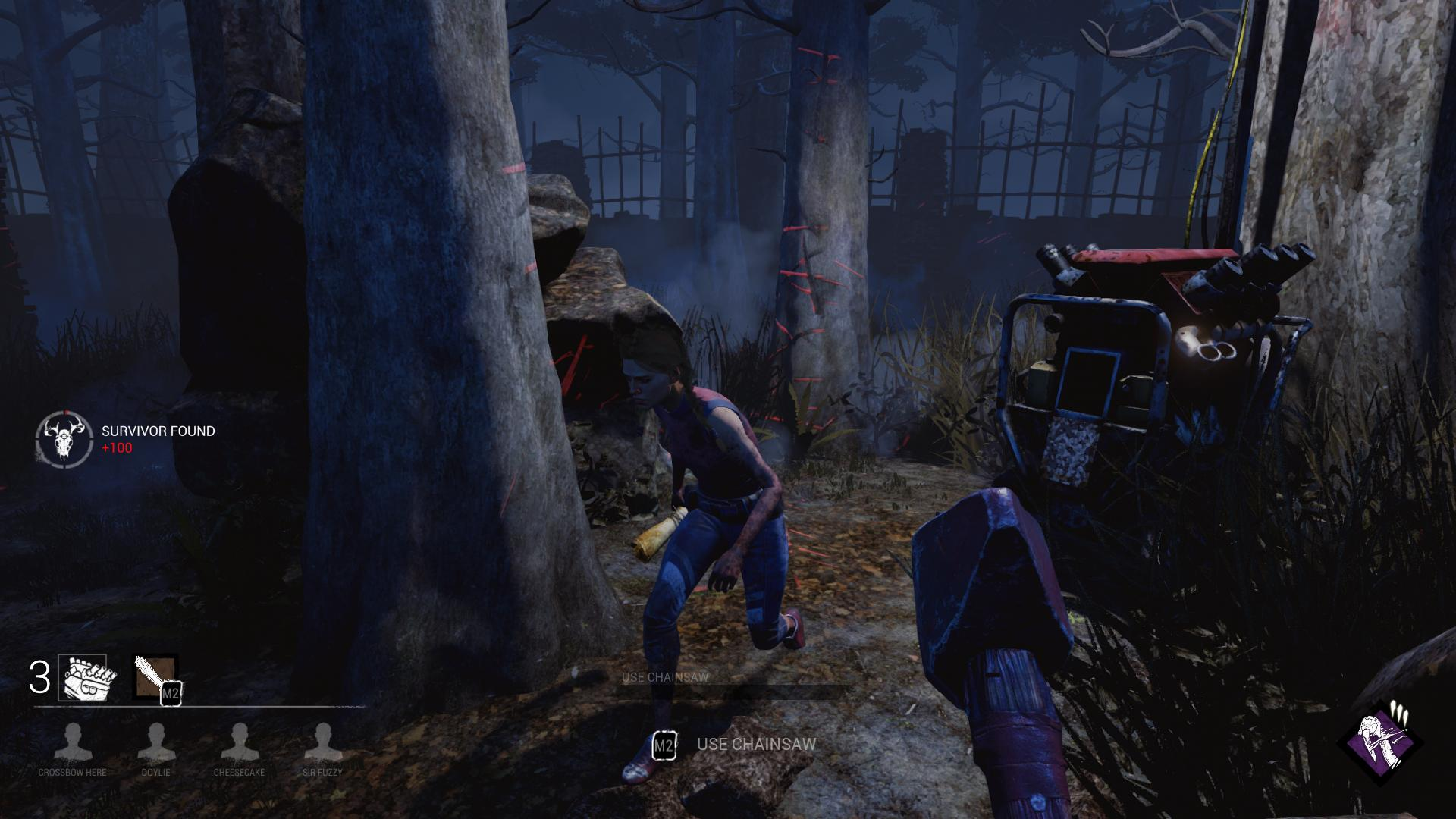 Dead by Daylight for MacBook gameplay