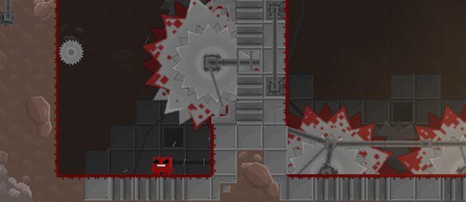 Super Meat Boy MacBook Version gameplay