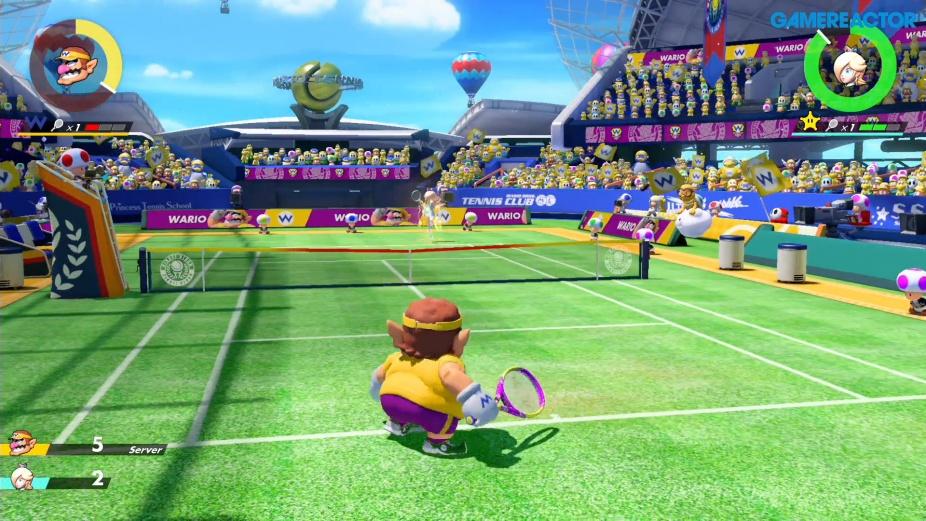 Mario Tennis Aces for MacBook gameplay