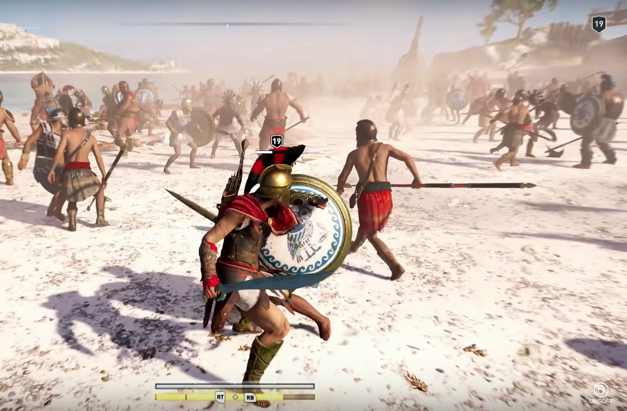 Assassin's Creed Odyssey MacBook Version gameplay