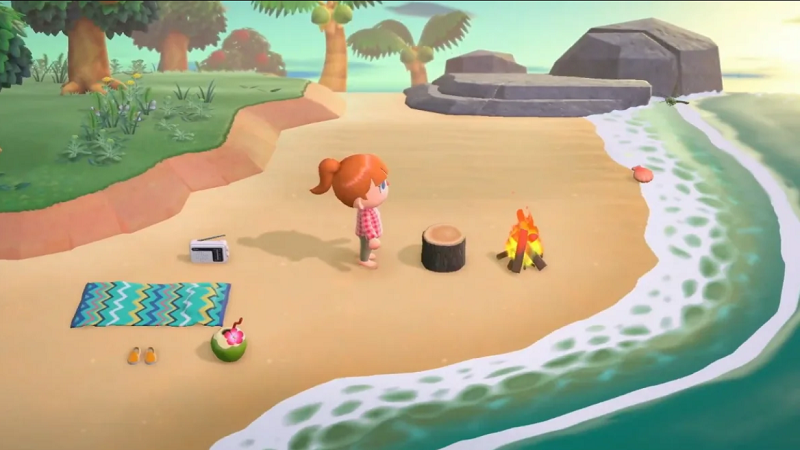 Animal Crossing: New Horizons for MacBook gameplay
