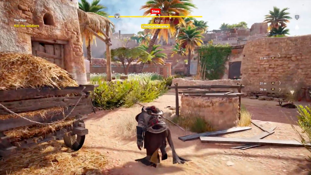 Assassin's Creed Origins Mac OS X gameplay