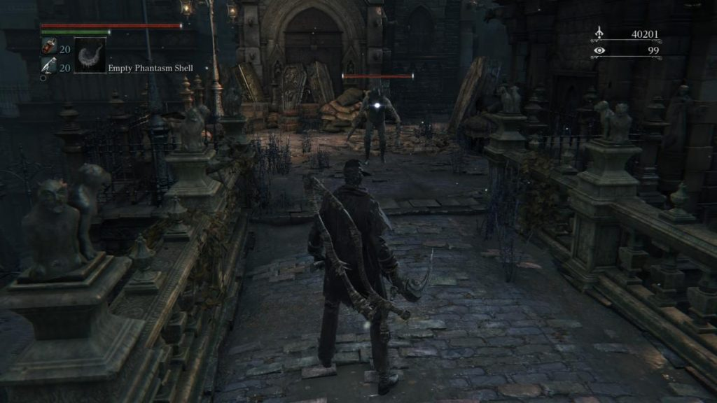 Bloodborne Mac OS X gameplay