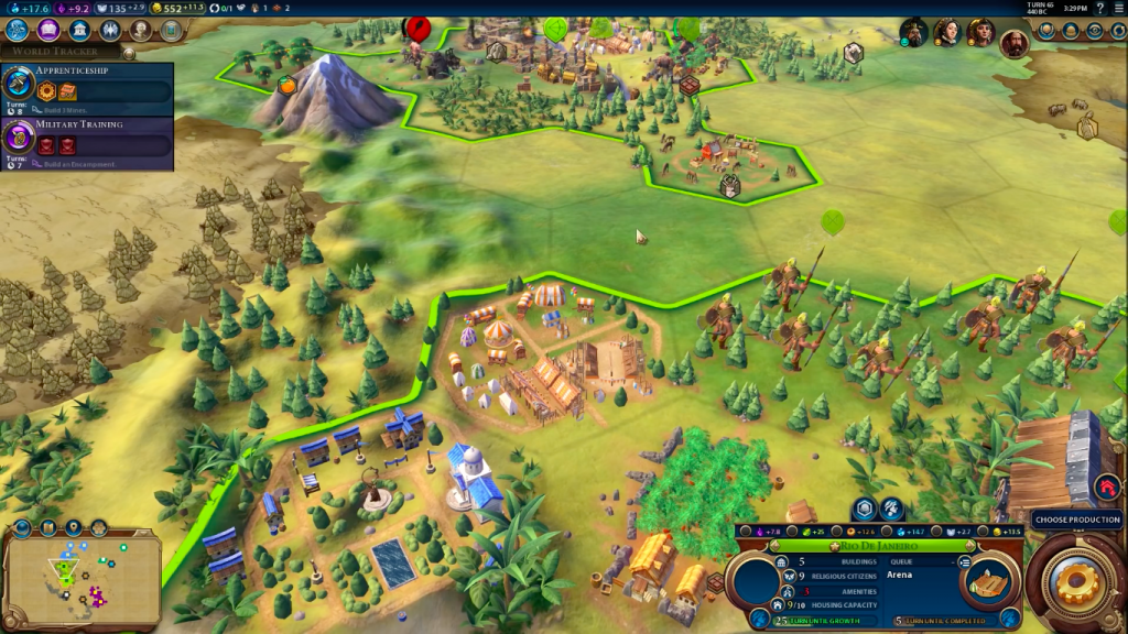 Civilization VI for Mac OS X gameplay