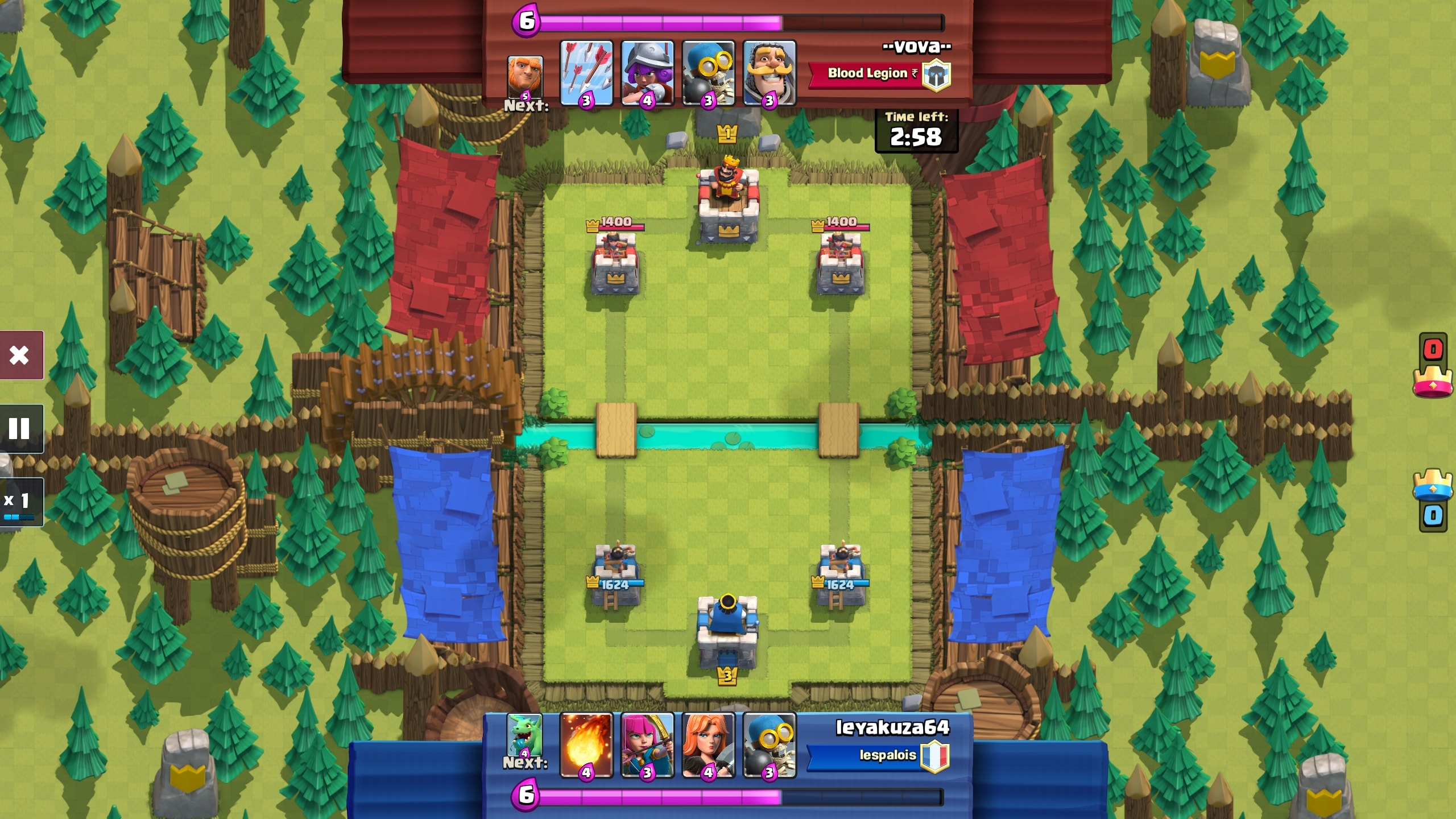 Clash Royale MacBook OS X Version gameplay