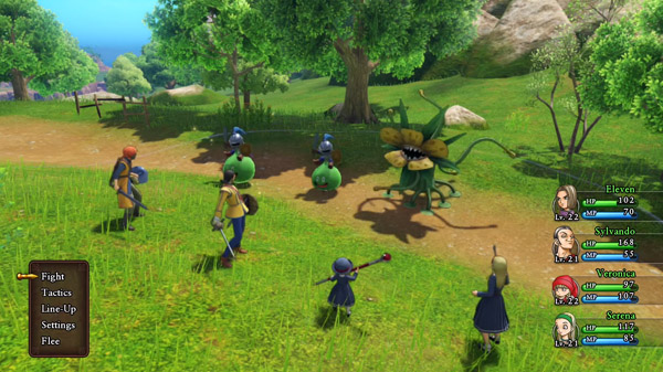 Dragon Quest XI for MacBook gameplay