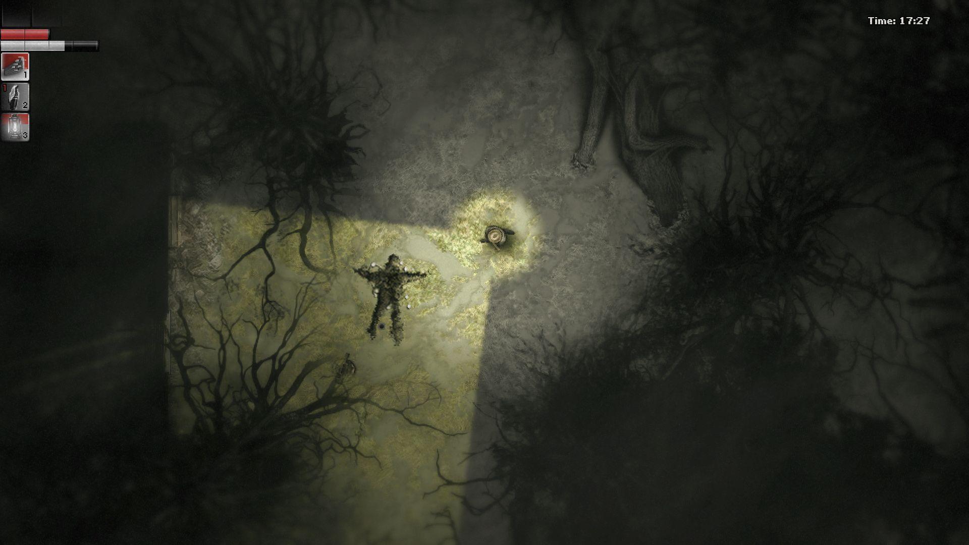 Darkwood MacBook OS X Version gameplay