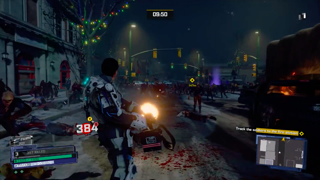 Dead Rising 4 for MacBook OS X gameplay
