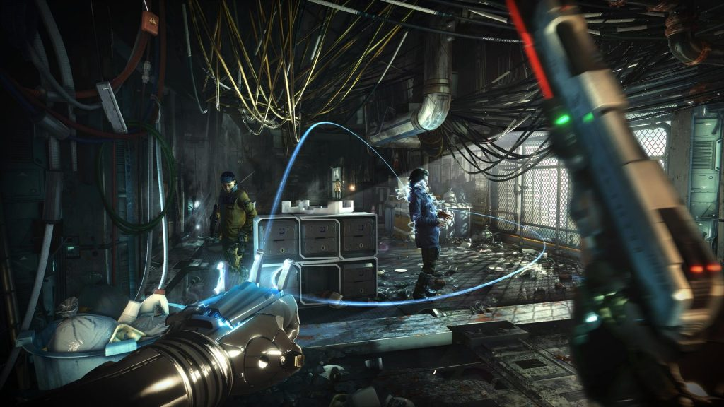 Deus EX Mankind Divided Mac OS X screenshots