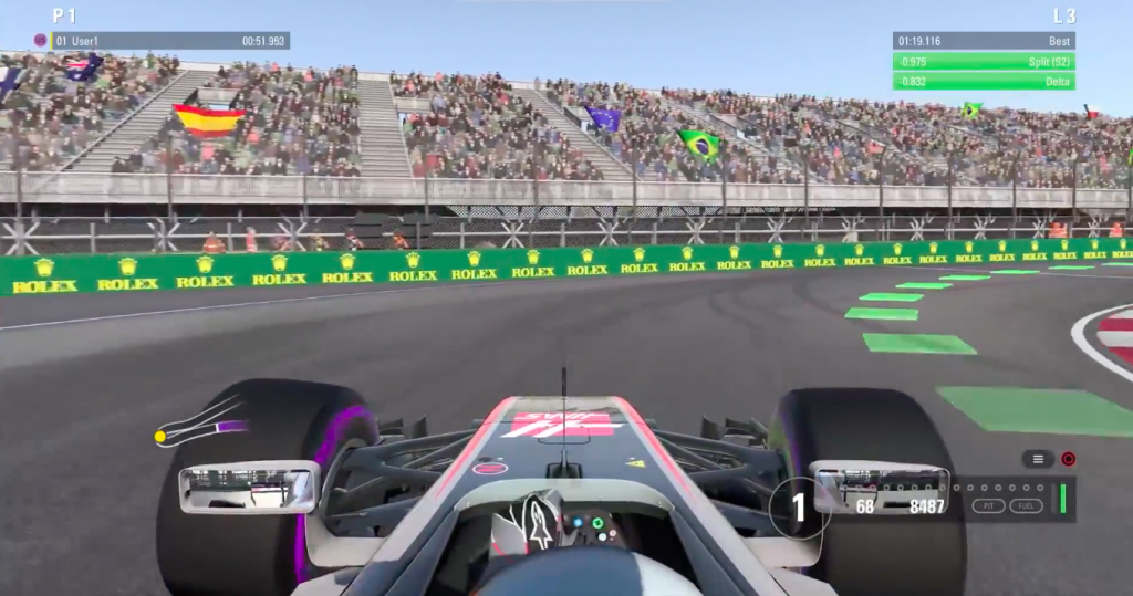 F1 2017 MacBook OS X Version gameplay