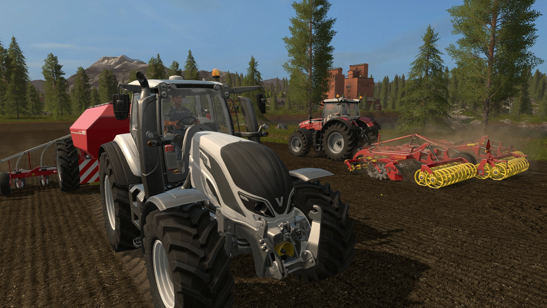 Farming Simulator 19 for MacBook gameplay
