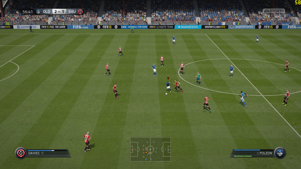 Fifa 15 Mac OS X screenshot