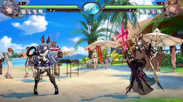 Granblue Fantasy Versus for MacBook gameplay