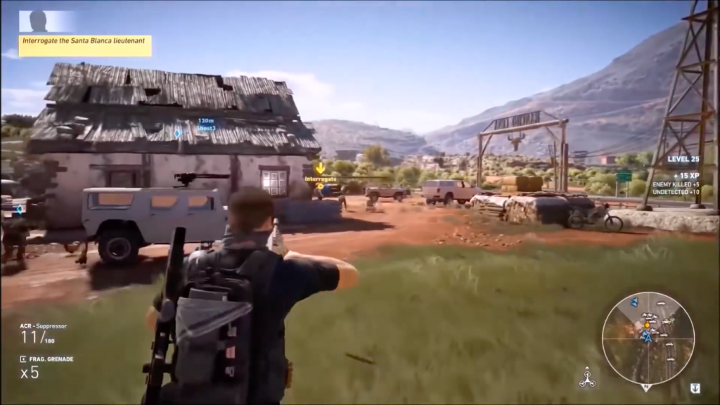 Ghost Recon Wildlands for Mac OS X gameplay