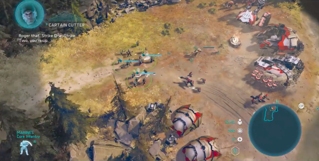 Halo Wars 2 for Mac OS X gameplay
