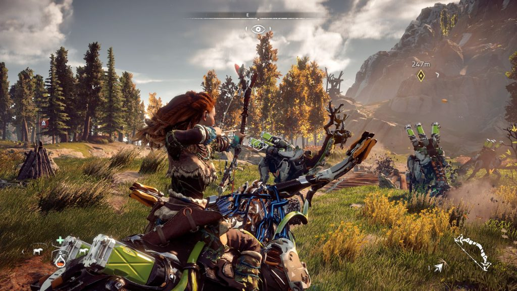 Horizon Zero Dawn for MacBook OS X gameplay