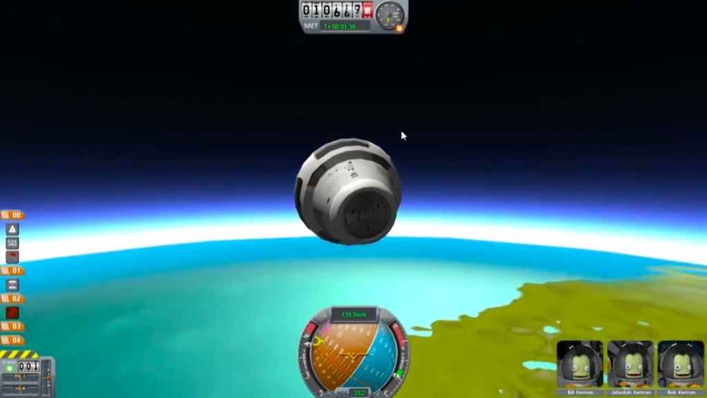 Kerbal Space Program for Mac OS X gameplay