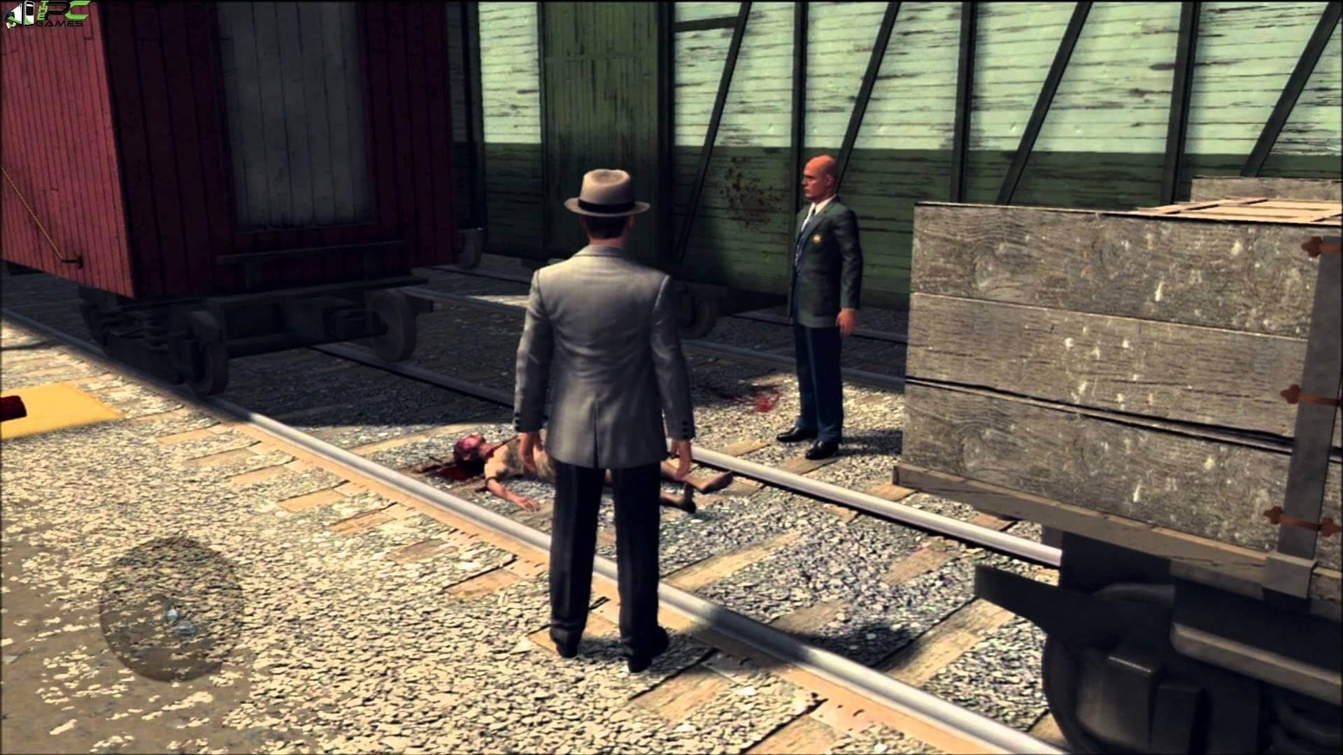 L.A. Noire MacBook OS X Version gameplay