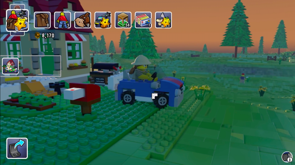 LEGO Worlds for MacBook gameplay