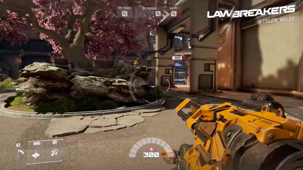LawBreakers for Mac OS X gameplay