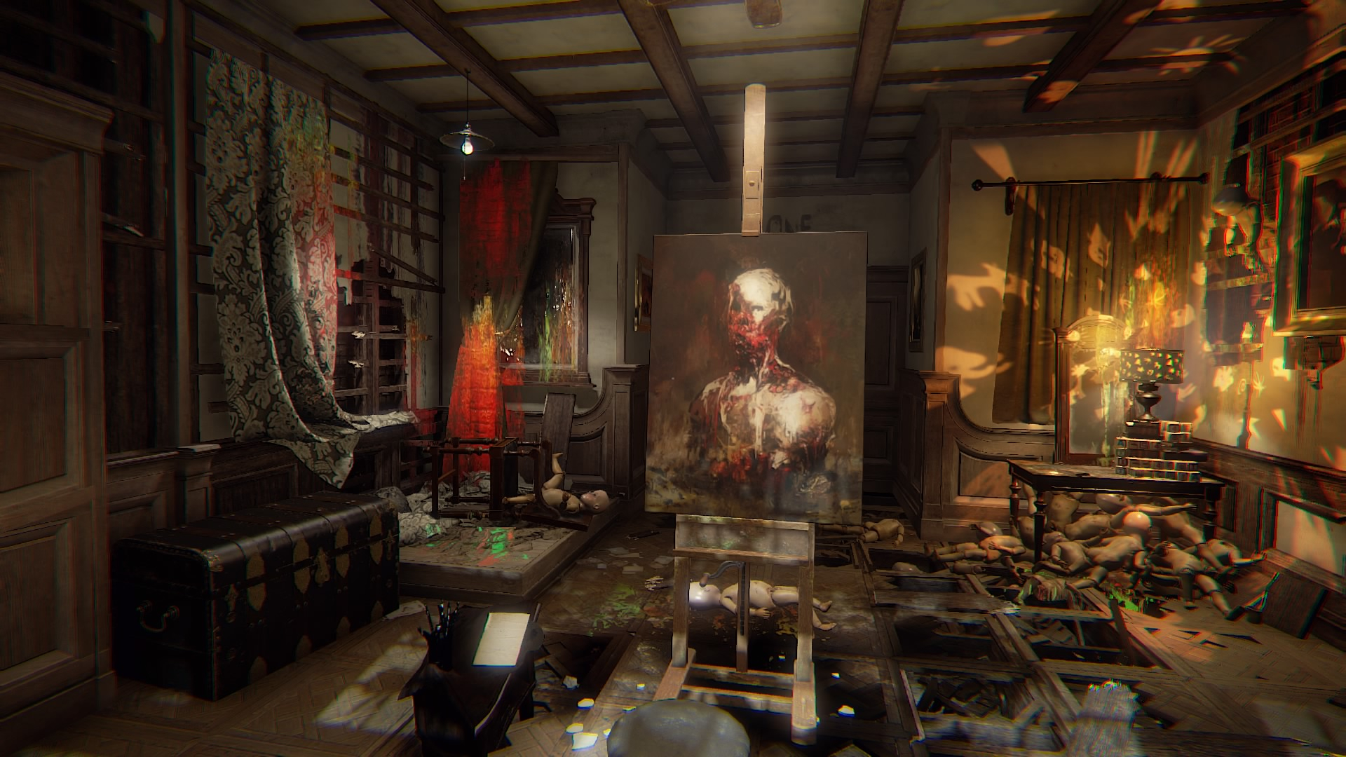 Layers of Fear MacBook OS X Version gameplay