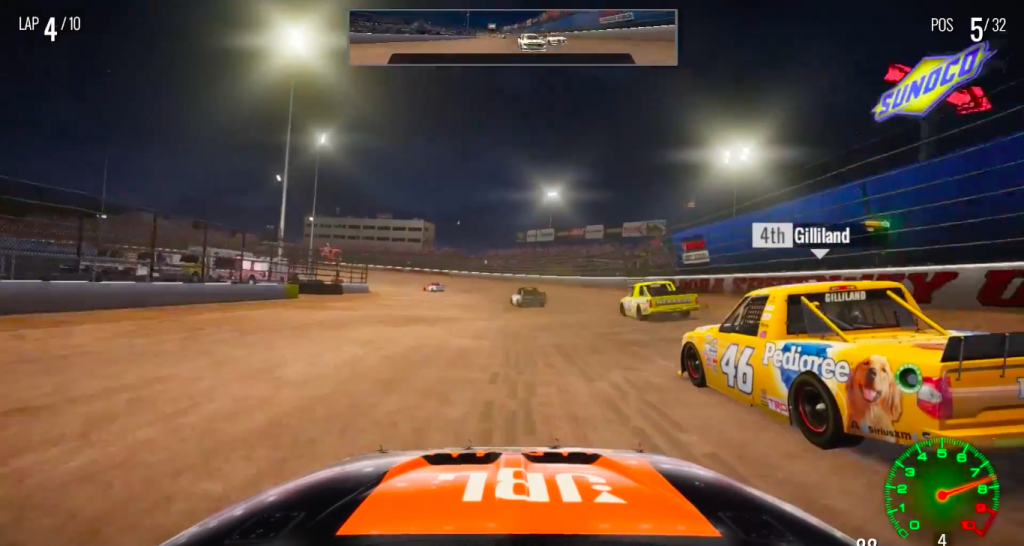 NASCAR Heat 2 Mac OS X gameplay