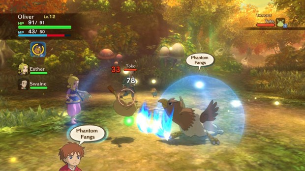 Ni no Kuni: Wrath of the White Witch for macOS gameplay