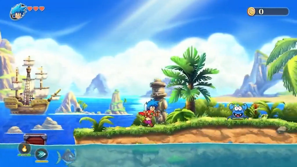 Monster Boy and the Cursed Kingdom for MacBook gameplay