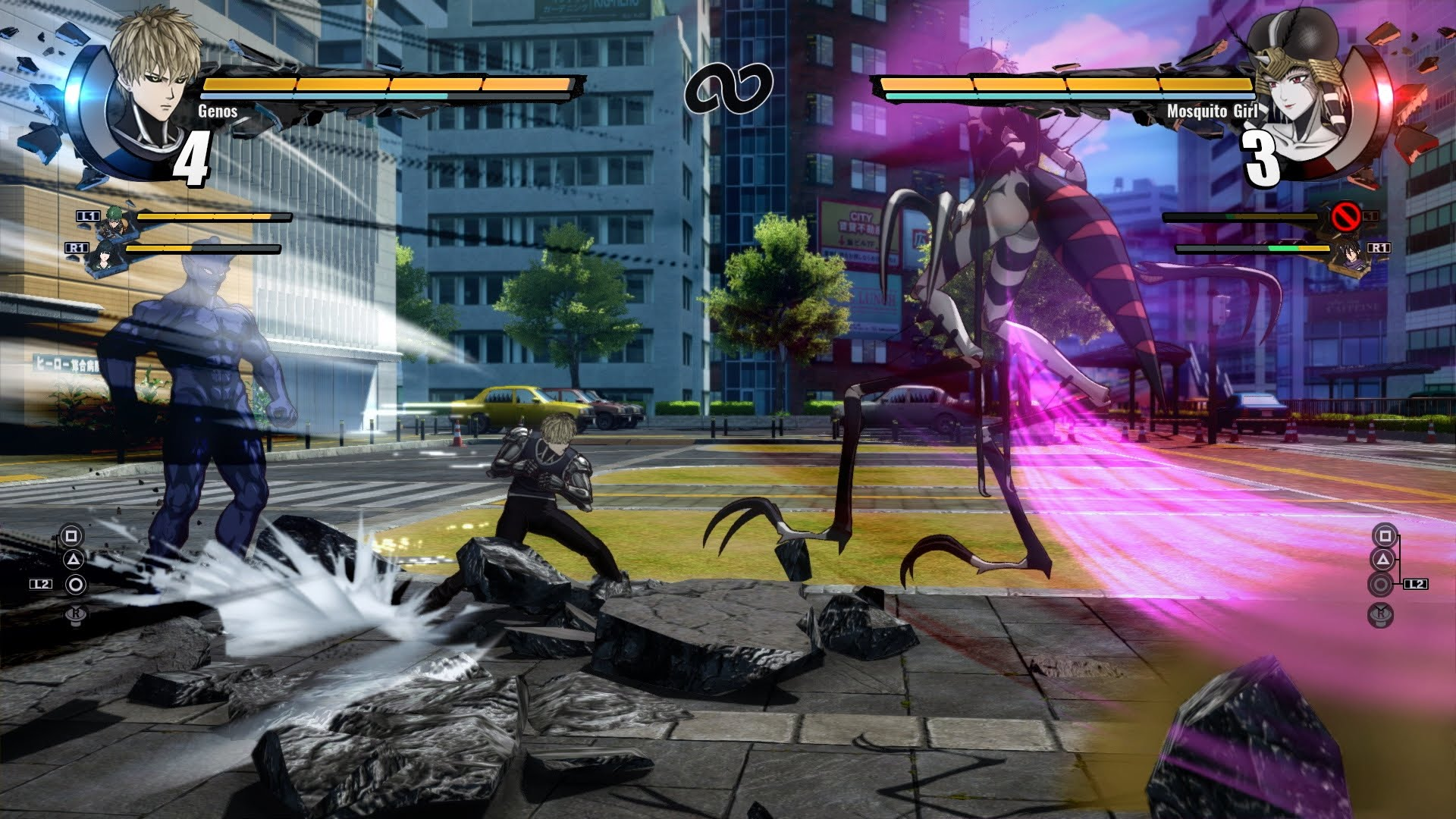 One-Punch Man: A Hero Nobody Knows for macOS gameplay