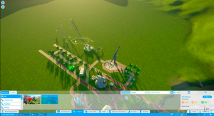 Planet Coaster for MacBook gameplay