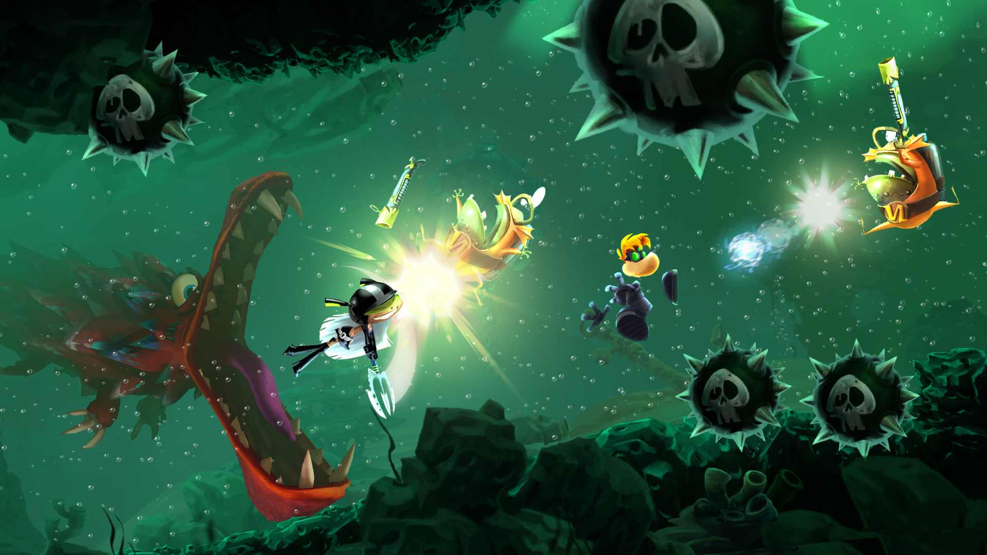 Rayman Legends for MacBook gameplay