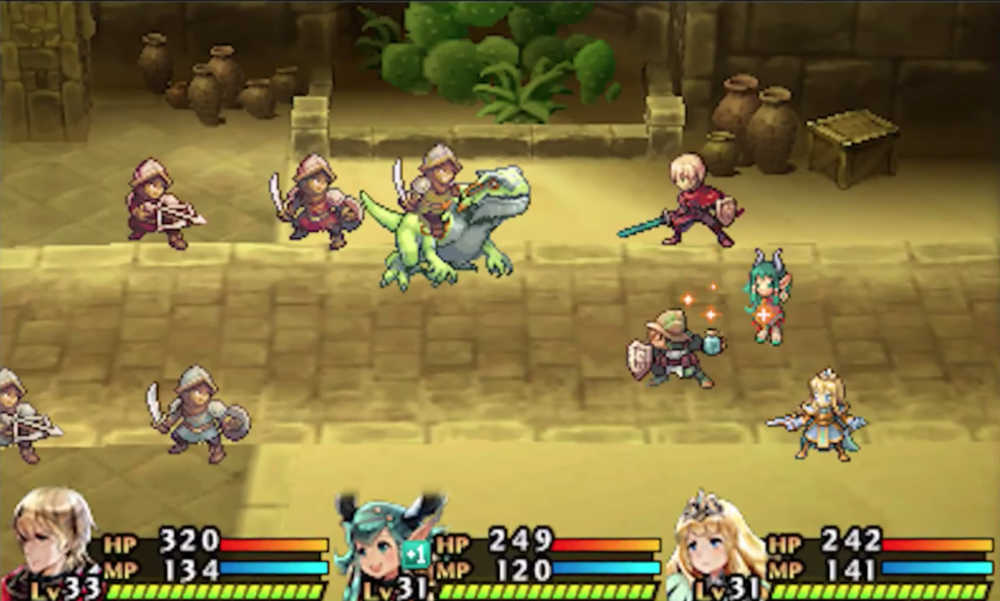 Radiant Historia for MacBook gameplay