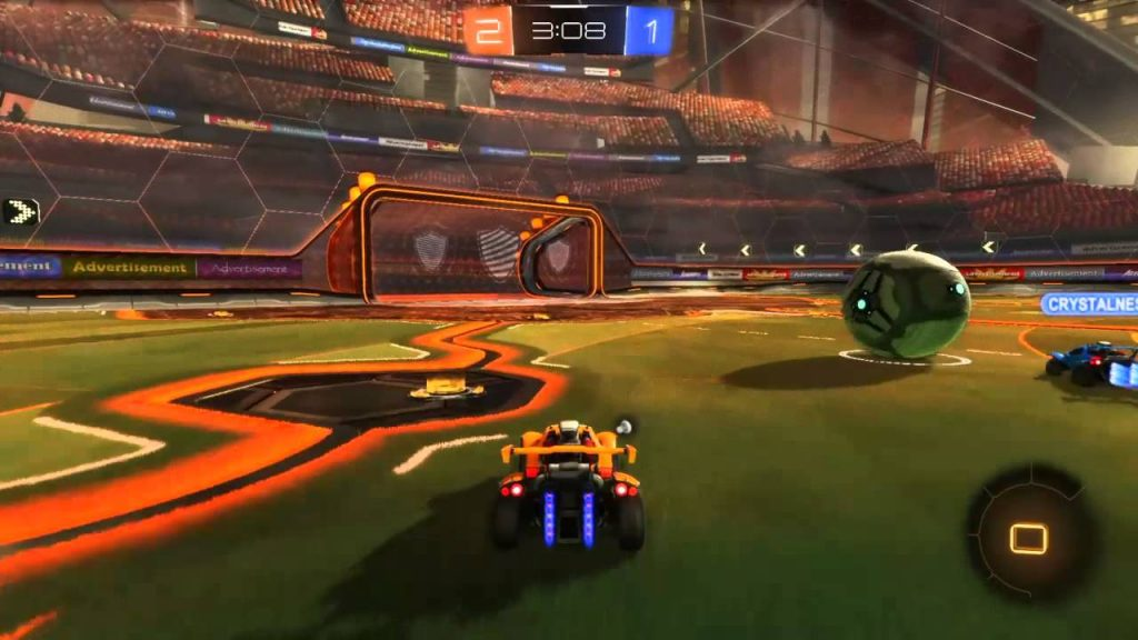 Rocket League Mac OS X gameplay