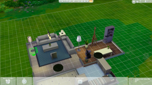 Sims 4 for MacBook gameplay