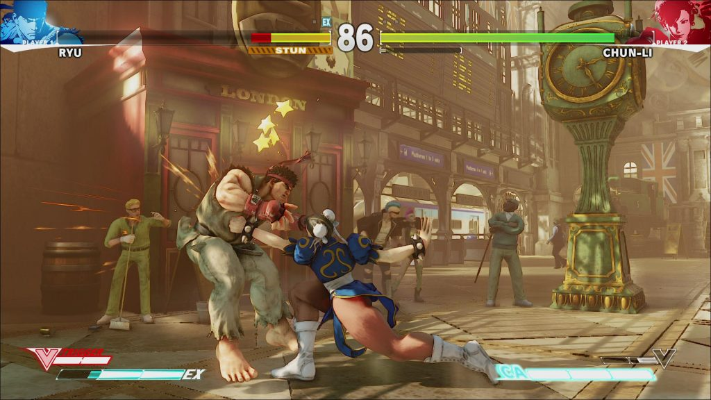 Street Fighter V Mac OS X screenshot