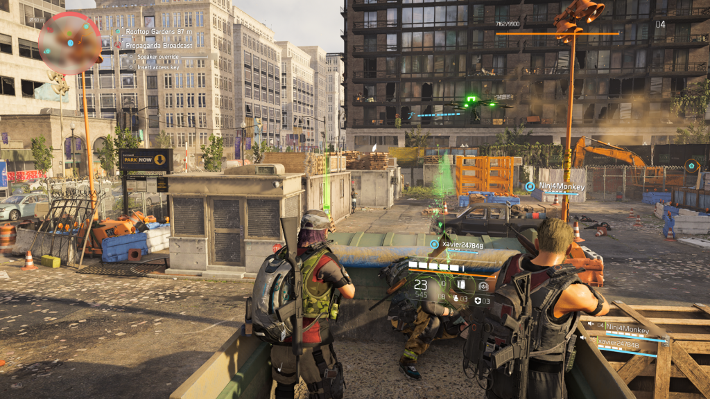 Tom Clancy's The Division 2 for MacBook gameplay