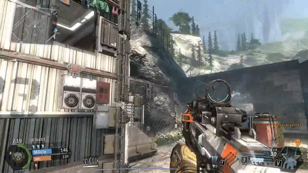 Titanfall 2 Mac OS X gameplay