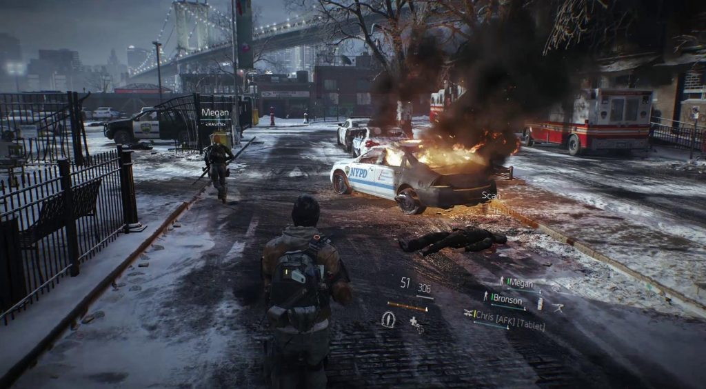 Tom Clancy's The Division Mac OS X sreenshot