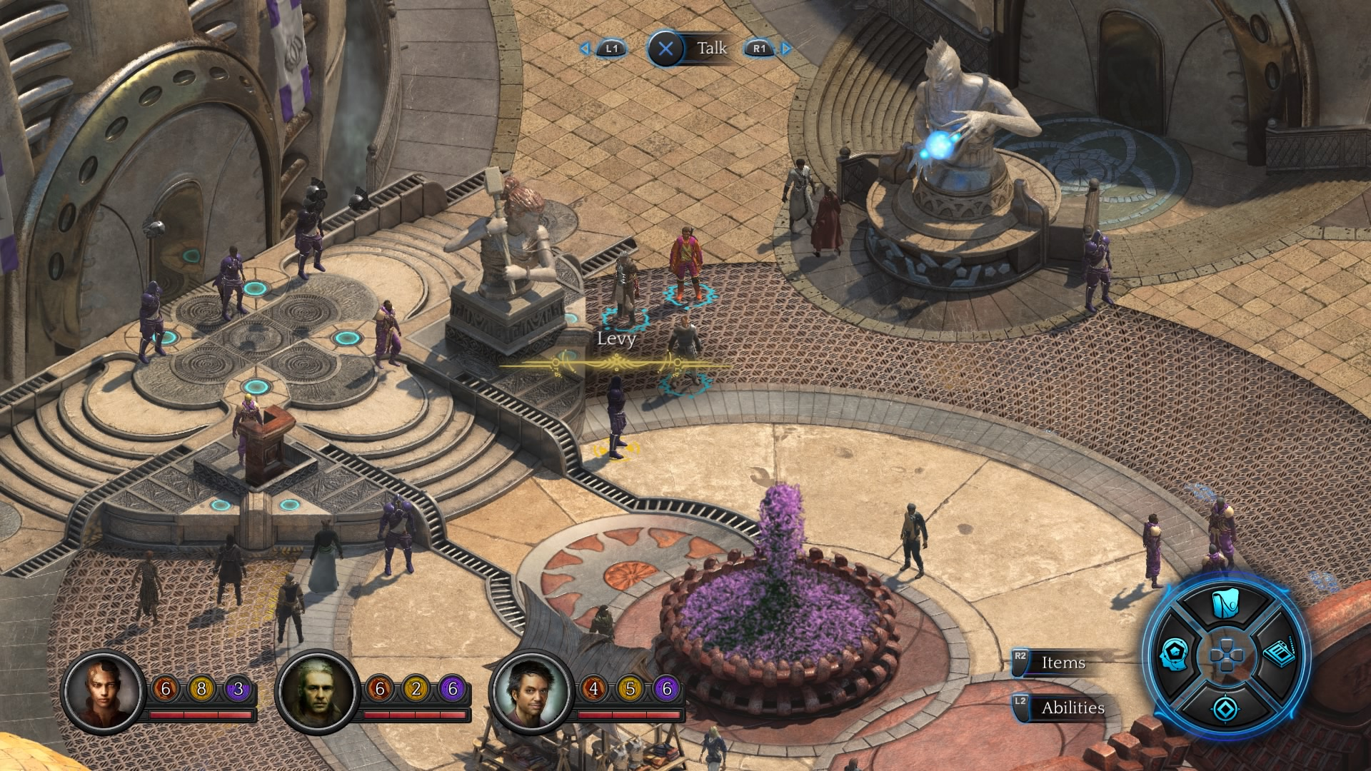 Torment: Tides of Numenera for MacBook gameplay