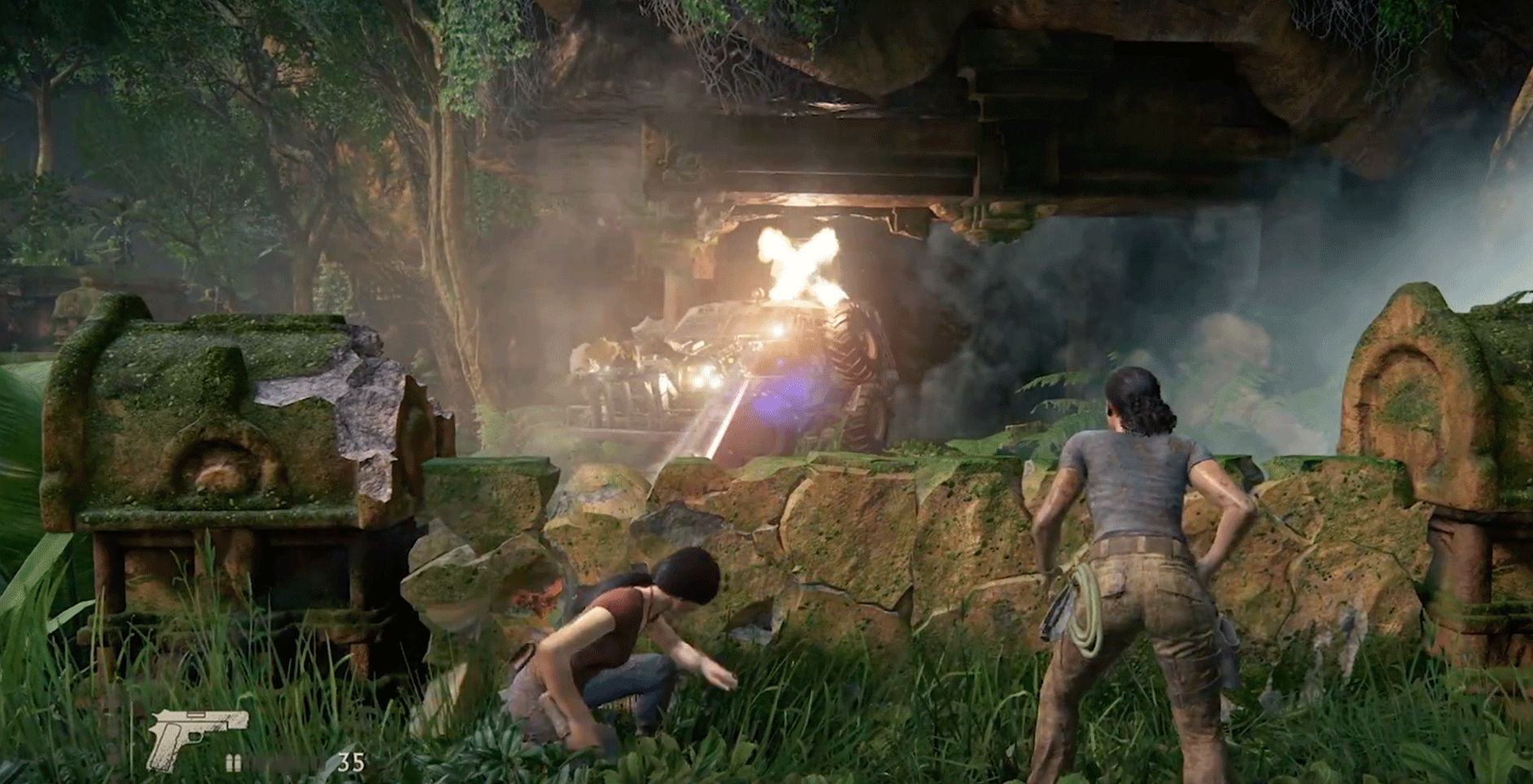 Uncharted: The Lost Legacy for macOS gameplay