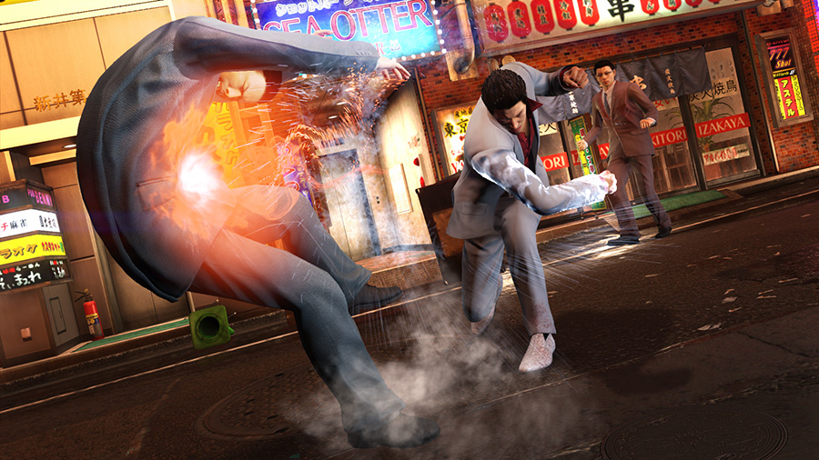Yakuza 6: The Song of Life for MacBook gameplay