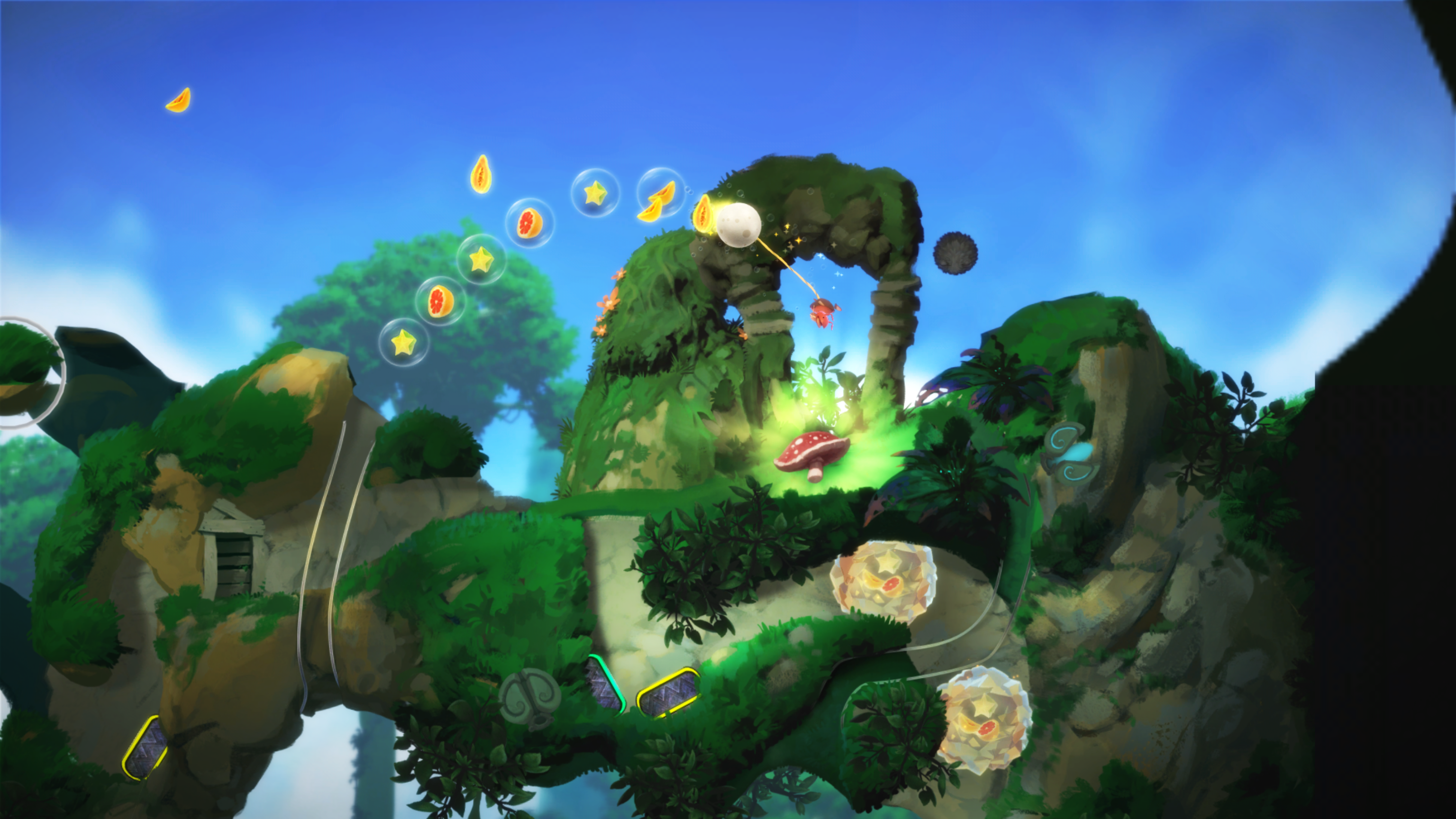 Yoku's Island Express for macOS gameplay