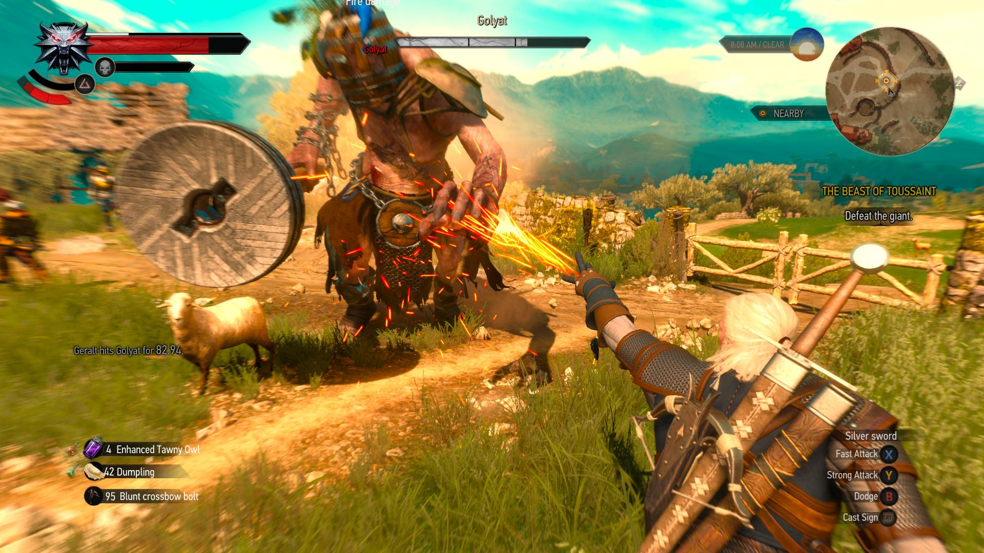 The Witcher 3: Wild Hunt – Blood and Wine for MacBook gameplay