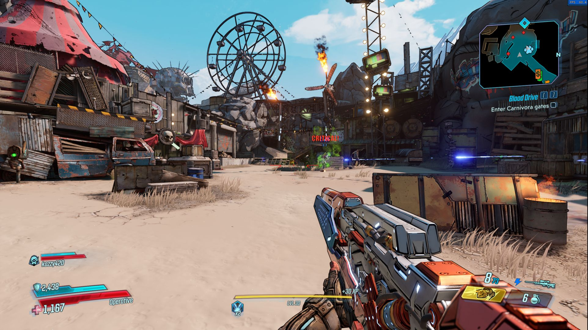 Borderlands 3 for macOS gameplay